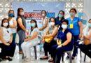 Medical frontliners sa VSU, nabakunahan batok sa COVID-19